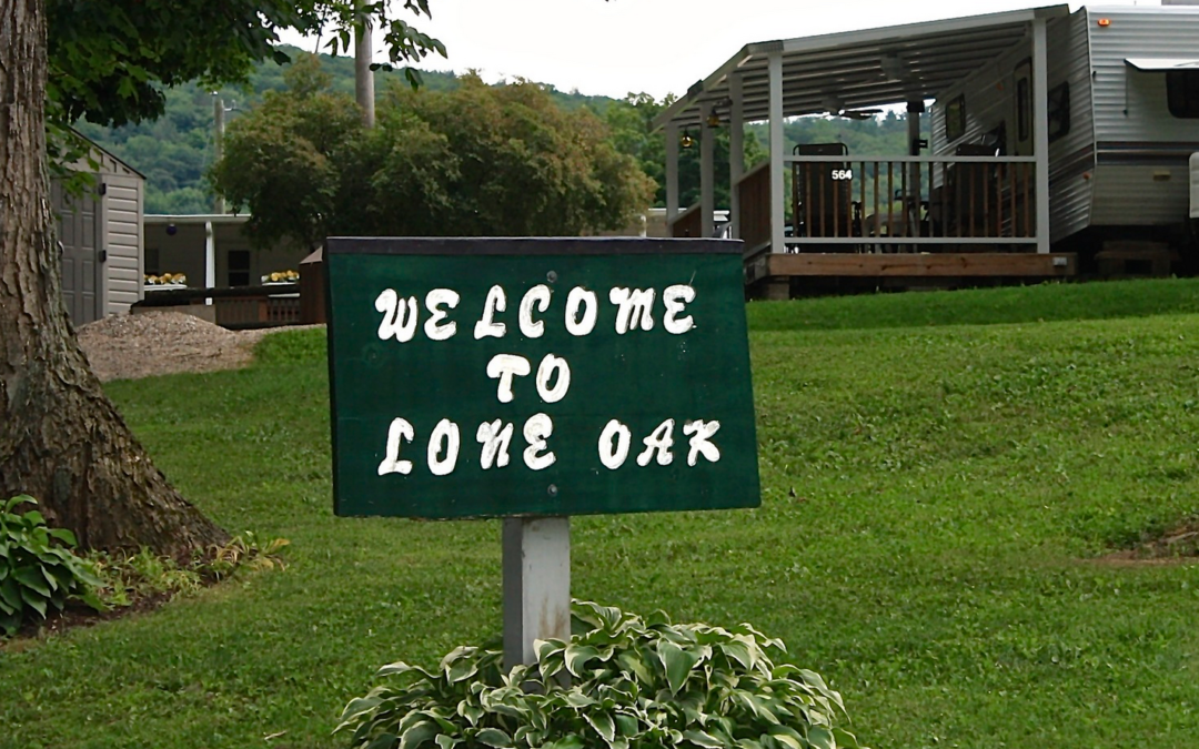 Visit us at Lone Oak Campsites