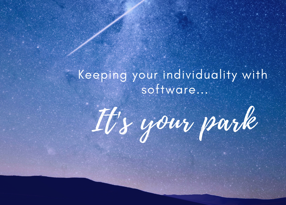 It's Your Park: Keeping Your Individuality With Software