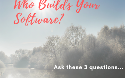 Who Builds Your Software?