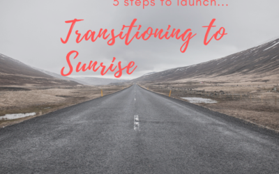 Transitioning to Sunrise: 3 steps to launch
